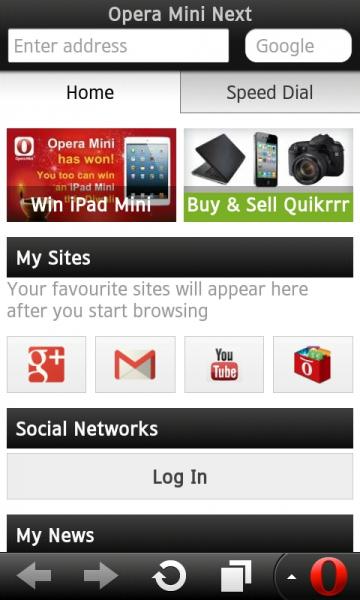 Опера Мини 7 Андроид
